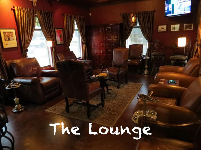 Enjoy our Tobacco Lounge